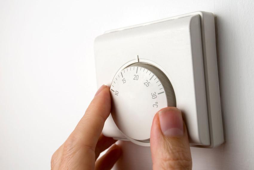 Paso 1 Apaga tu calefacción
