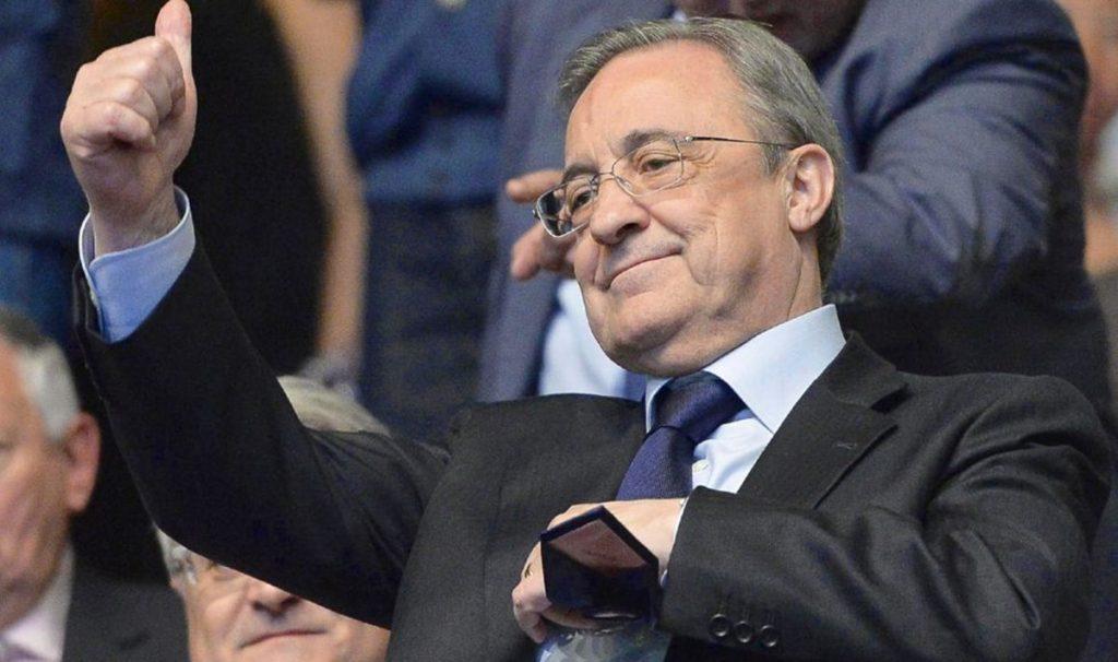 Real Madrid, Florentino Pérez,Heung Min Son