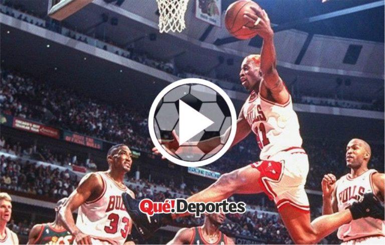 El espectáculo defensivo llamado Dennis Rodman