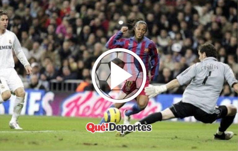 El día que Ronaldinho bailó al Real Madrid y terminó siendo aplaudido en el Bernabéu