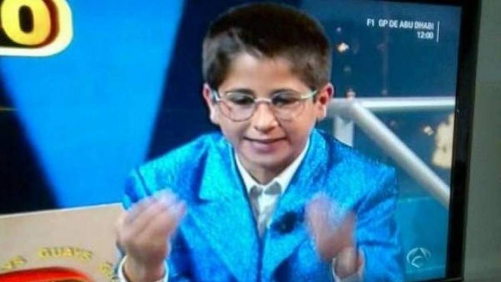 No creerás cómo está ahora Rubén Ramírez, el niño imitador de Esos locos bajitos