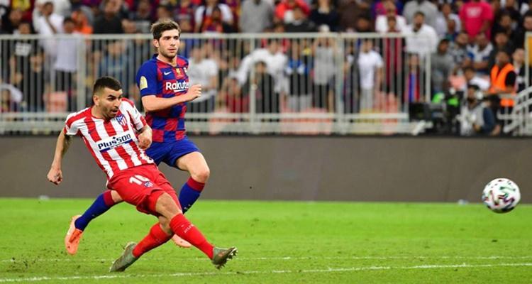 Supercopa Atlético FC Barcelona