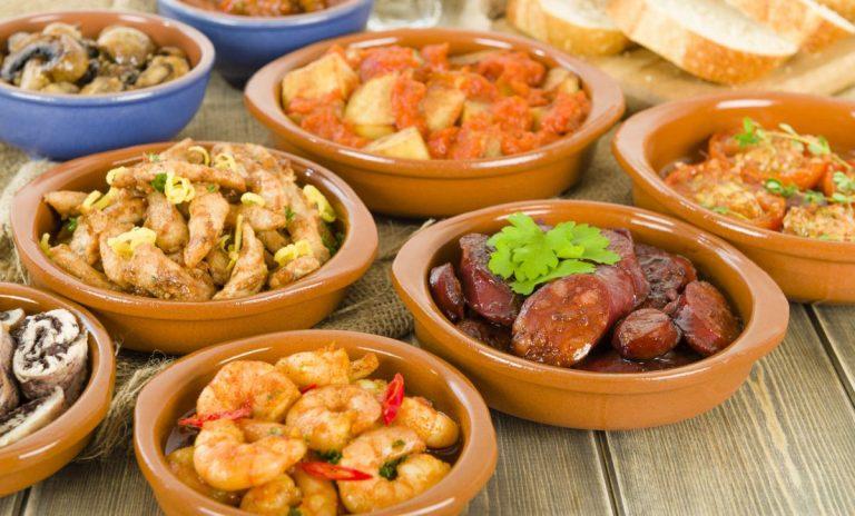 Estas son las tapas de España con menos calorías