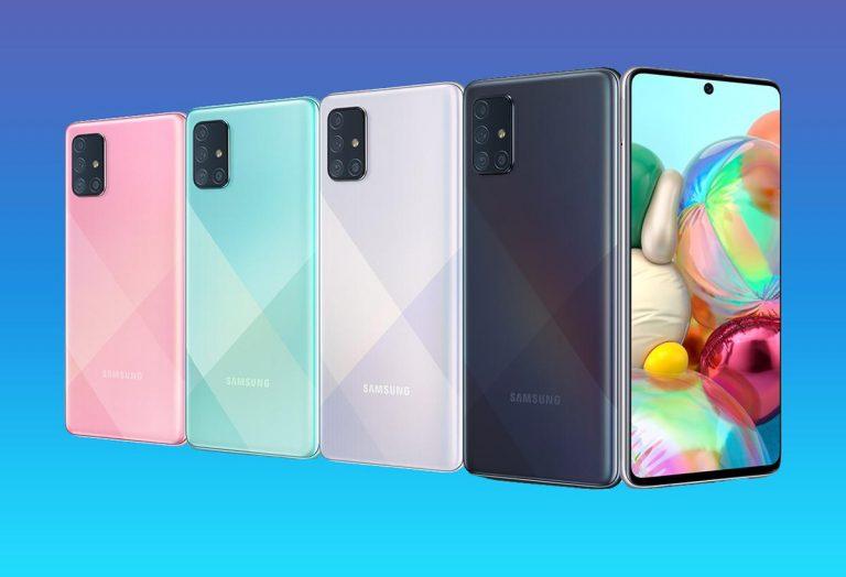 Los mejores teléfonos Samsung de gama media