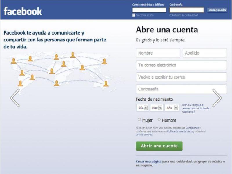 Confirmar tu identidad en Facebook