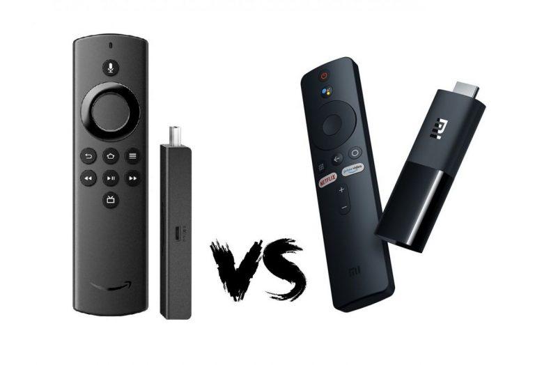 Xiaomi Mi TV Stick vs Amazon Fire TV Stick ¿Cuál es mejor?