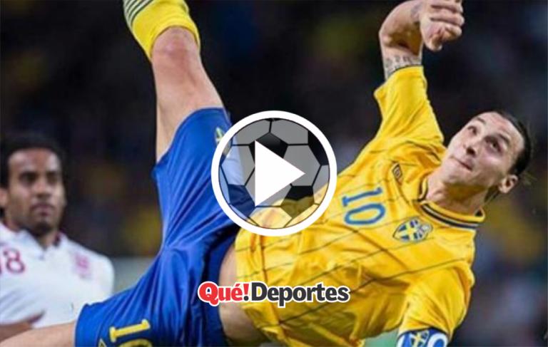 Zlatan Ibrahimovićy su sello preferido: chilena