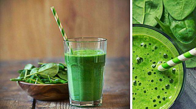 Zumo verde para diabéticos