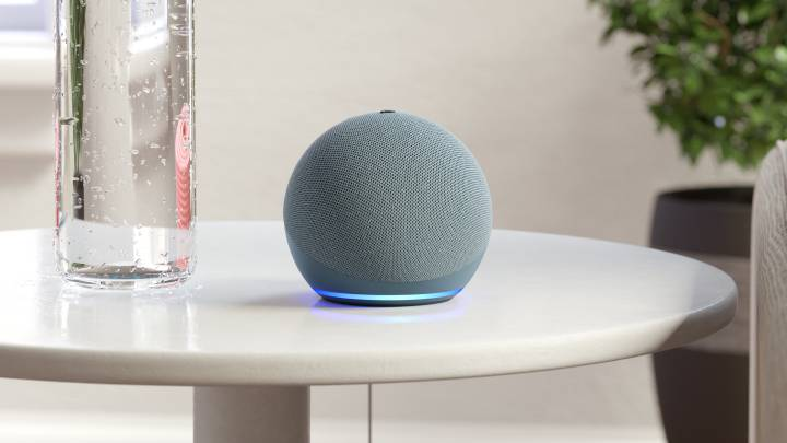Uno de los Amazon Echo