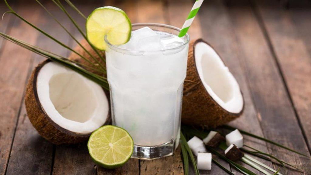 Agua de coco, sustitutivo del café
