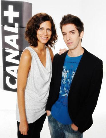 David Broncano y Cristina Teva