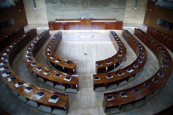 ¿Cuáles son los órganos que componen la asamblea de Madrid?