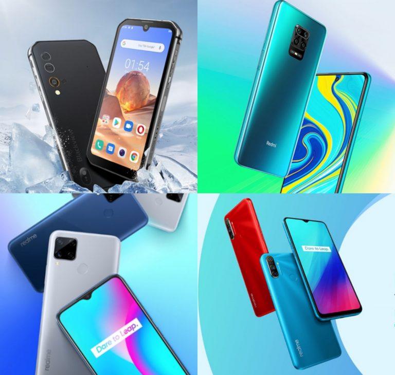 AliExpress: triunfa esta Navidad con estos 10 móviles que Blackview, Realme y Xiaomi ofrecen al mejor precio