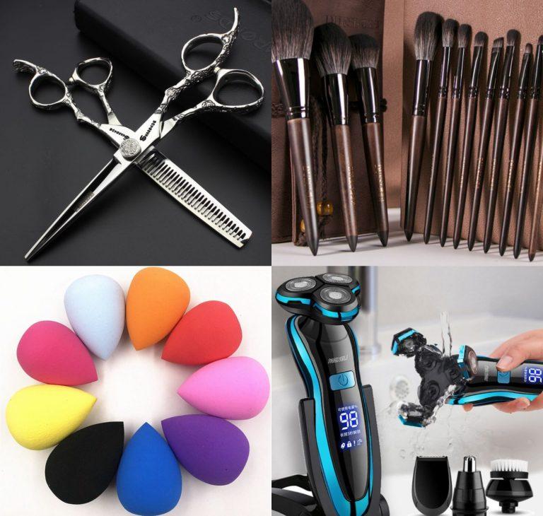 Aliexpress: 10 accesorios de peluquería, barba y maquillaje a precios de risa
