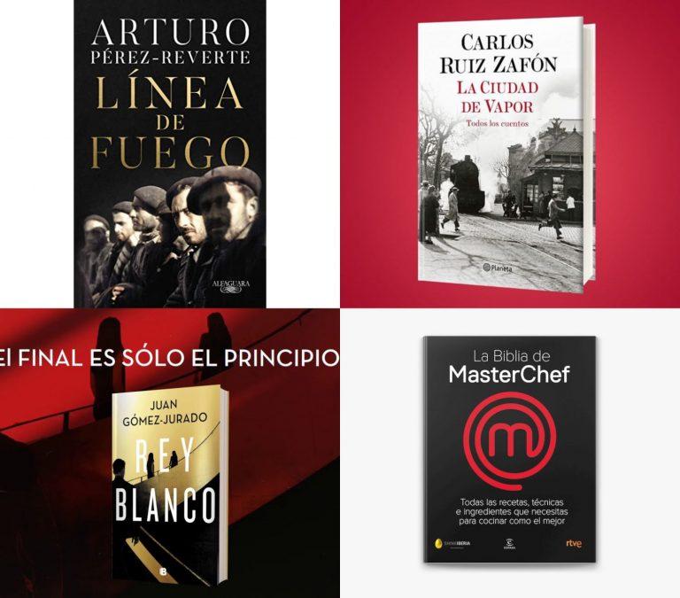 Amazon: Los 10 libros de los que todo el mundo habla