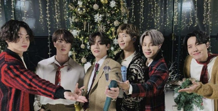BTS triunfan con 'Santa Claus Is Coming To Town'