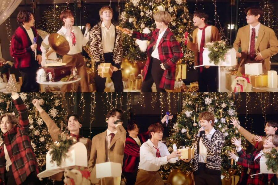 BTS Santa Claus Is Coming To Town
