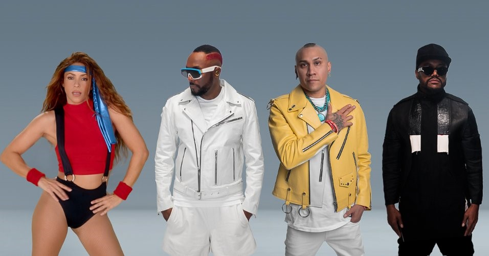 Black Eyed Peas y Shakira presentan 'Girl like me'
