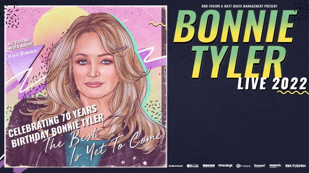 Bonnie Tyler Live 2022 The Best Is Yet To Come