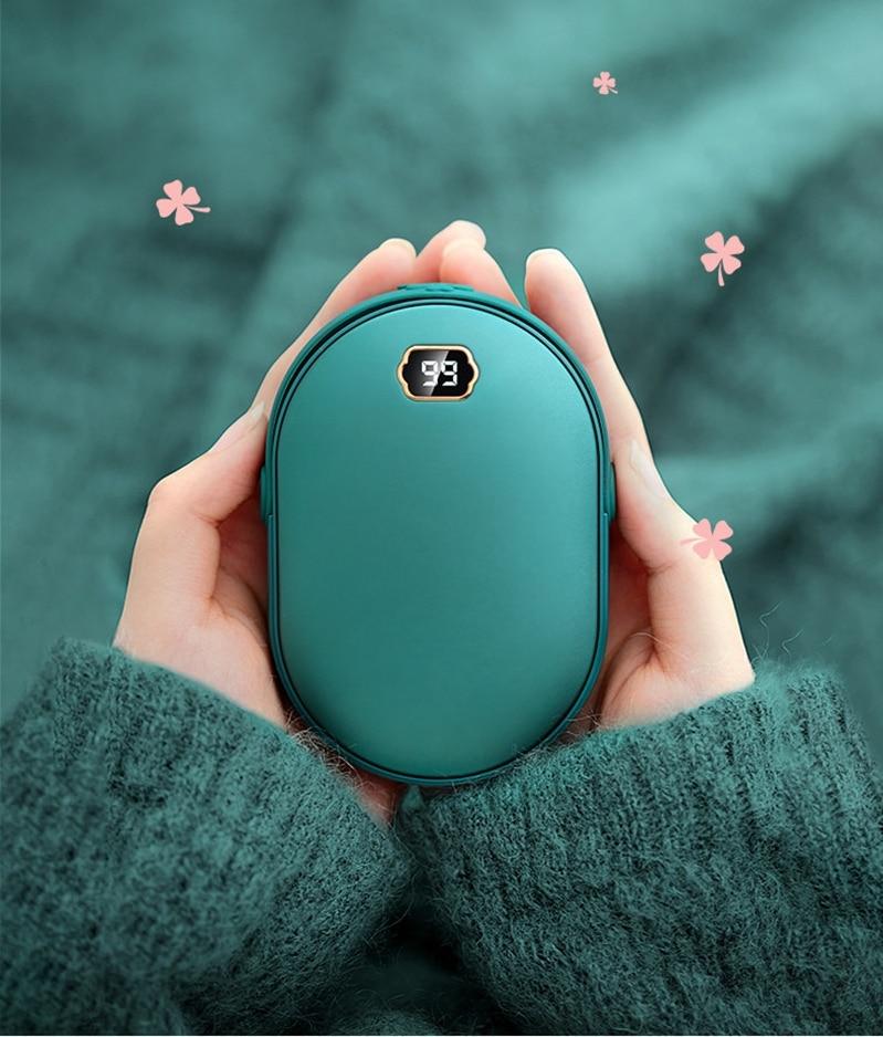 Calentador de manos eléctrico recargable