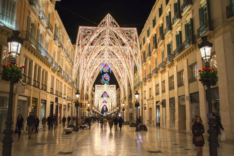 Calles de España mejor engalanadas por Navidad