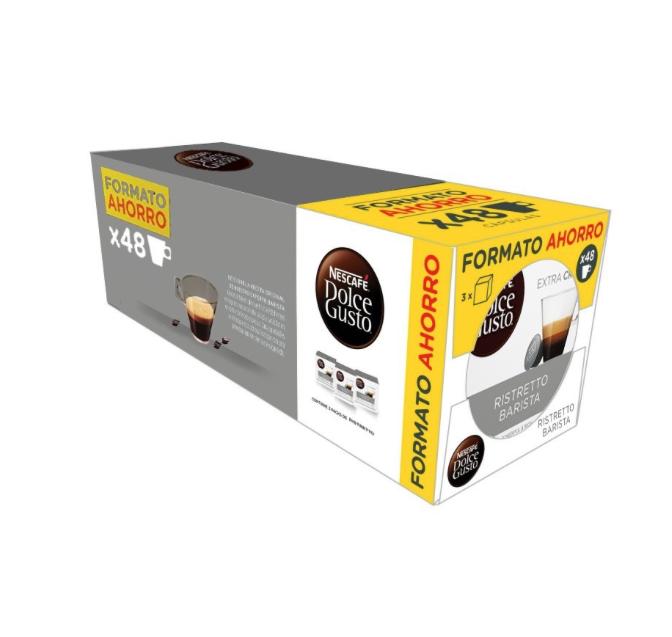 48 cápsulas de café Dolce Gusto