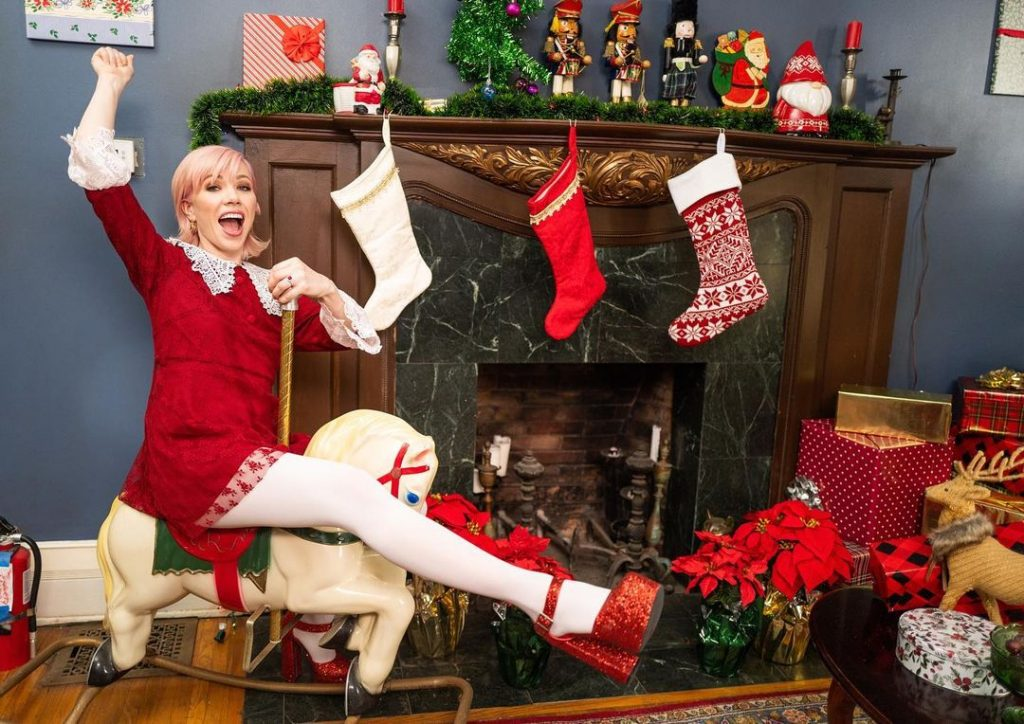 Carly Rae Jepsen It's Not Christmas Till Somebody Cries