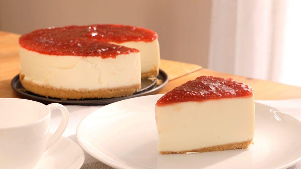 Ingredientes para preparar la tarta de queso, nueces y frambuesas de Alberto Chicote