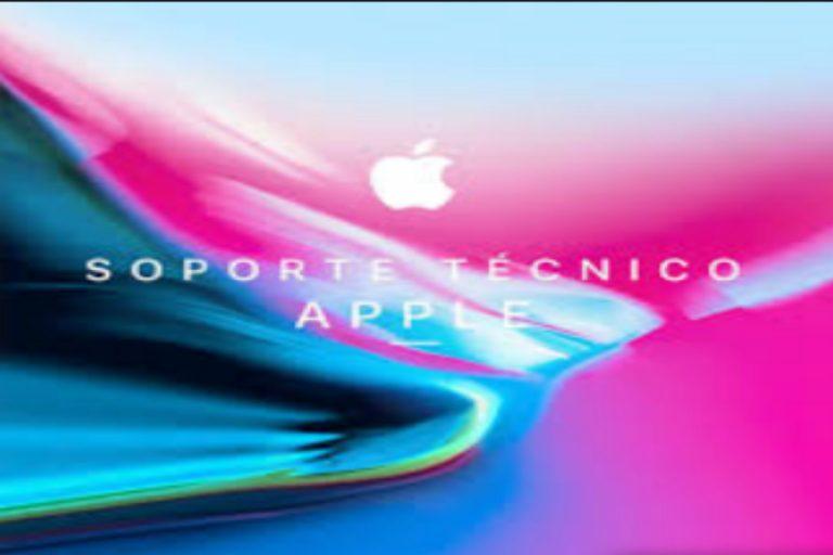 Cómo contactar con el soporte técnico de Apple