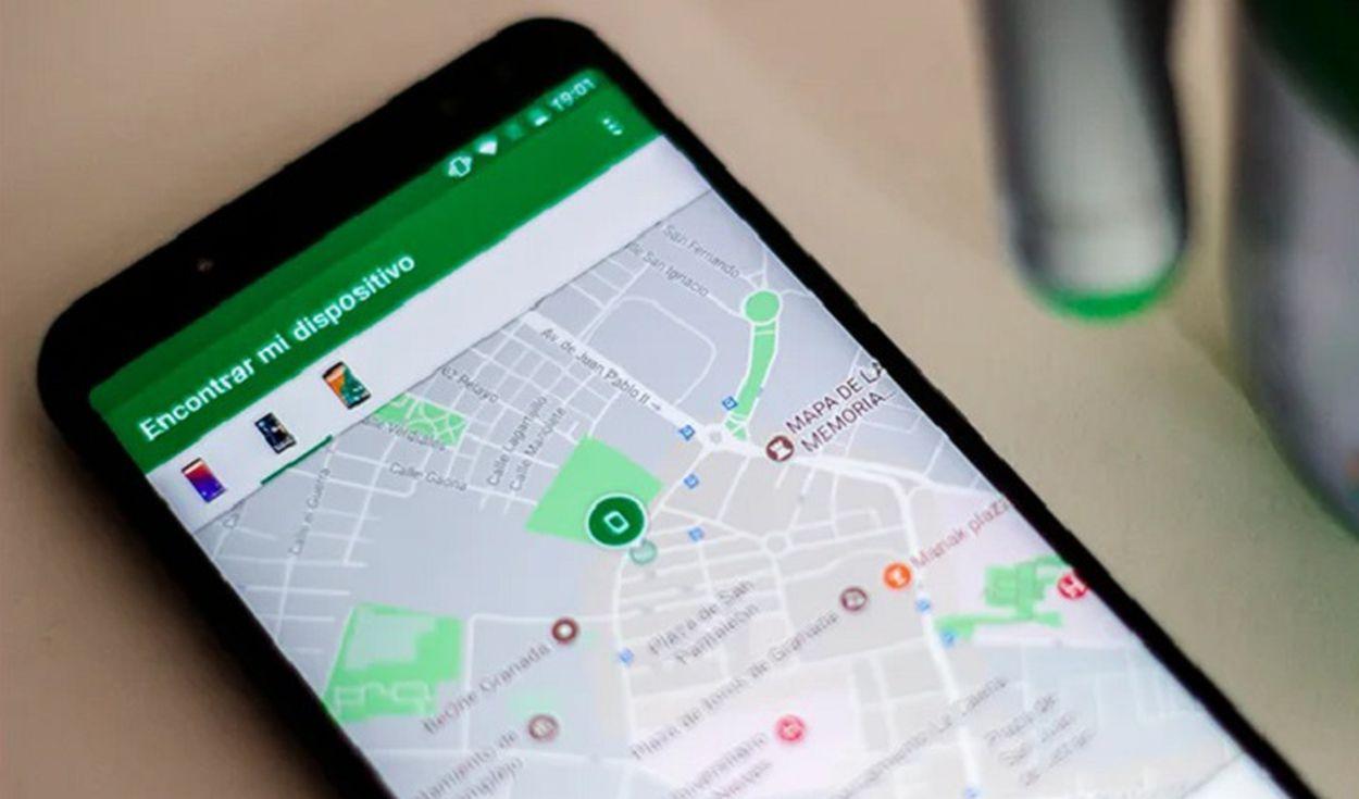 Encontrar un Android perdido