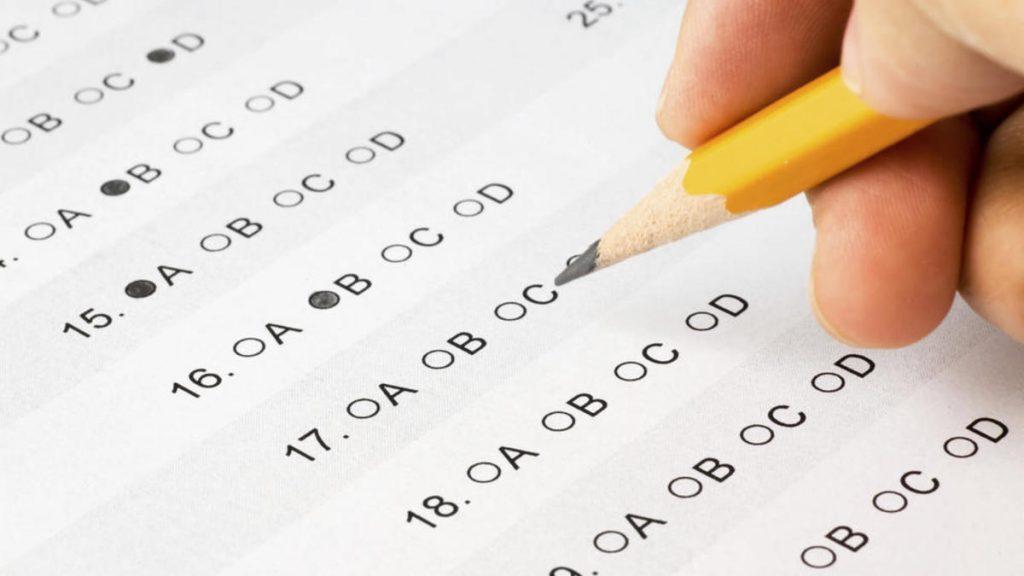 ¿Qué es un examen tipo test?