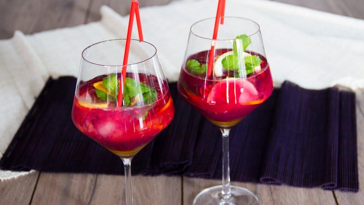 Champán de frutas sin alcohol