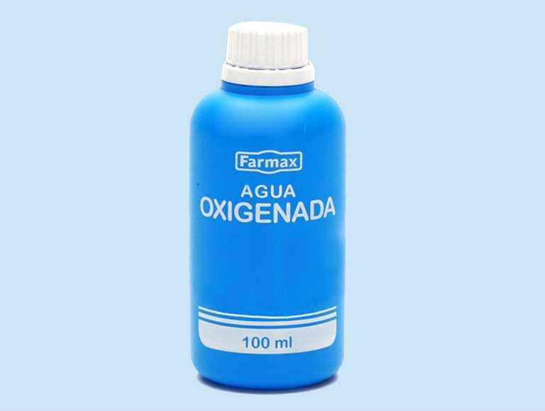 Agua oxigenada: