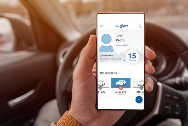 DGT: Así puedes ver en tu móvil los puntos que tienes en tu carnet de conducir