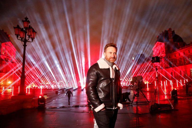 David Guetta concierto Louvre United at home
