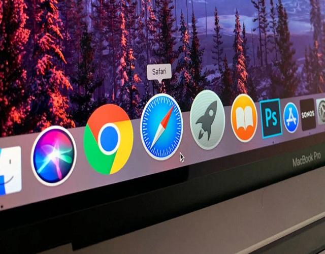 Dock del Mac app