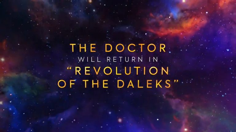 "Doctor Who: Revolution of the Daleks. Así es el tráiler del episodio especial ""navideño"""
