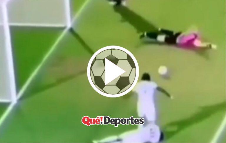 El oportunista máximo del gol ¡Y desleal!