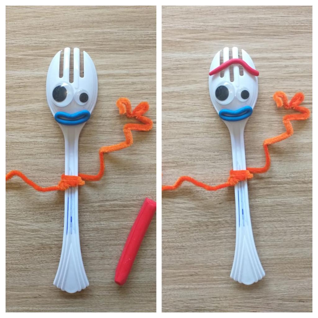 Forky, top de los juguetes reciclados