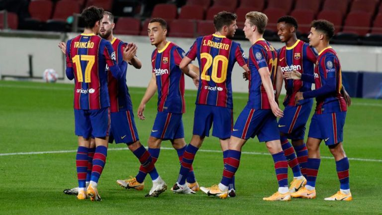 Ferencváros 0- Barcelona 3: Koeman afianza a los no habituales