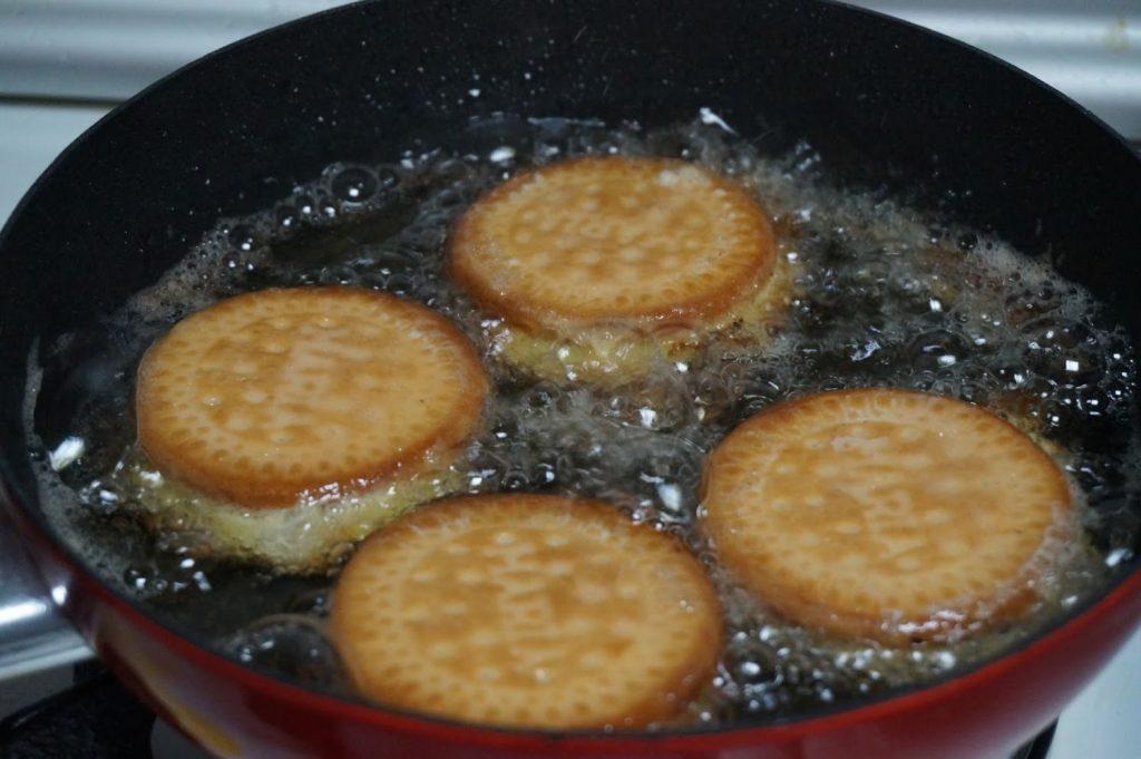 Freír las galletas