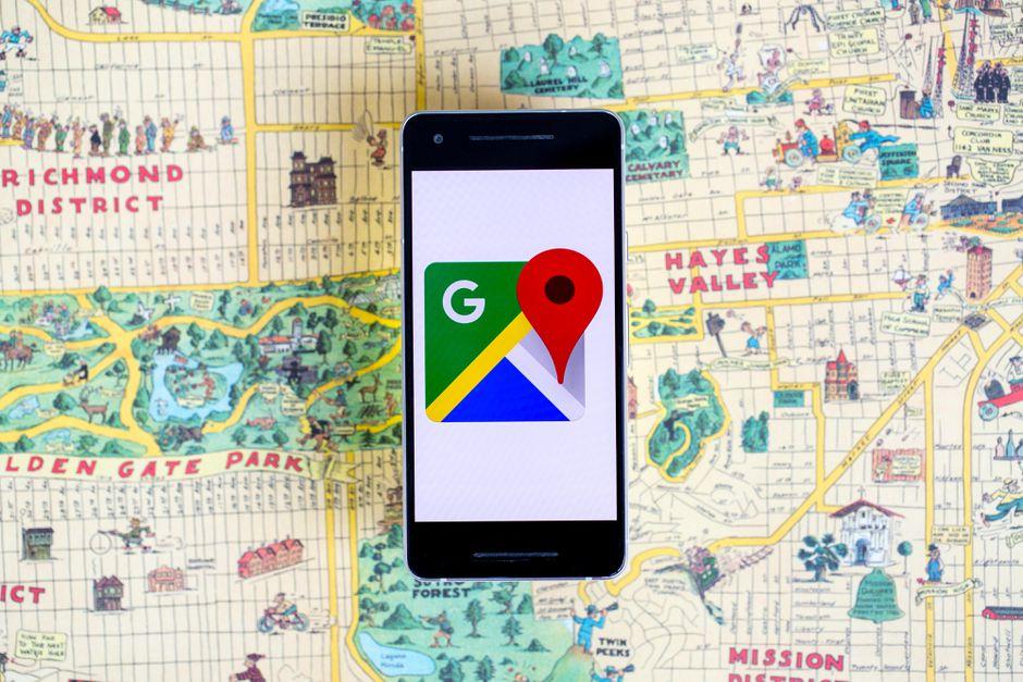 GOOGLE MAPS dgt multas