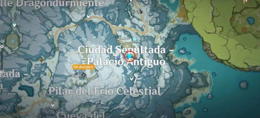 Genshin Impact: dónde están las tablas de piedra antigua en Espinadragón