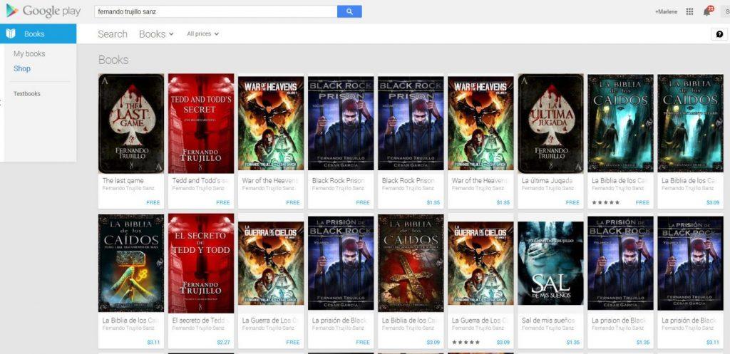 Cómo publico mi libro en Google Play