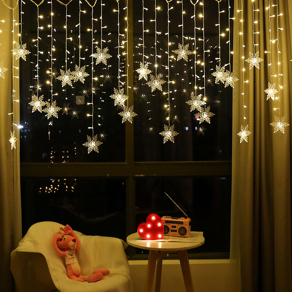 Guirnalda de estrellas de luces LED