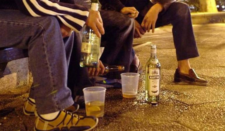 Intoxicación alcohólica en menores