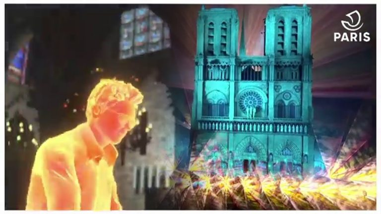 "Jean-Michel Jarre y ""Welcome to the other side"" : concierto año nuevo en una Notre-Dame virtual"