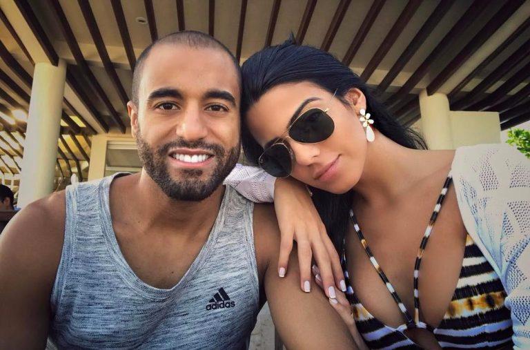 Así es Larissa Saad, la esposa de Lucas Moura que parece una Kardashian