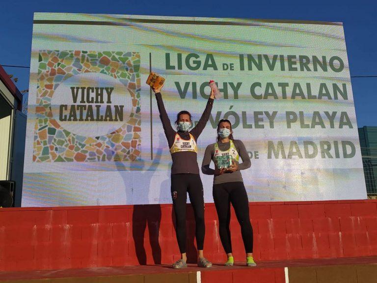 Puerta de Hierro acoge la 4º jornada de la Liga de Invierno Vichy Catalan de Voley Playa