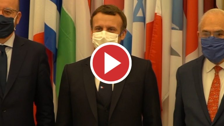Emmanuel Macron, presidente francés, positivo por coronavirus